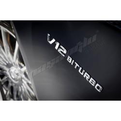 Mercedes Benz - V12 BİTURBO Çamurluk Logosu