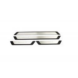 Bmw 1 Serisi F20 Krom Kapı Eşiği (Sport) 4 Prç.P.Çelik Flexi