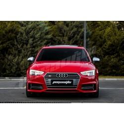 Audi - A4 A5 B9 S4 S5 Mat Krom Ayna Kapağı 2015-2021 (A-Kalite)