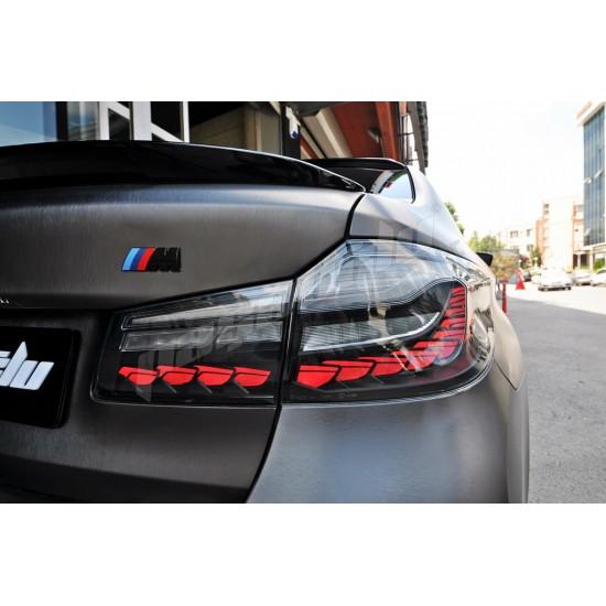 BMW G30 5 Serisi O LED DRAGON SMOKE STOP 2017 2019