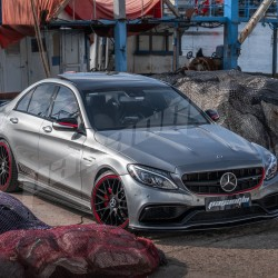 Mercedes Benz W205 C Serisi C63 AMG Edition 1 Dönüşüm Kiti 2014 2018