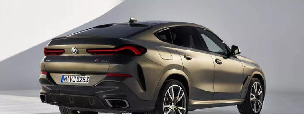 2019 BMW X6, aydınlatmalı ızgara gibi ilginç özellikleriyle tanıtıldı