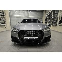 Audi - A4 B9 RS4 Body Kit Ön Tampon + Difüzör 2015-2019