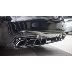 Mercedes Benz - W205 C Sedan / STW C63 AMG Difüzör Egzoz Ucu