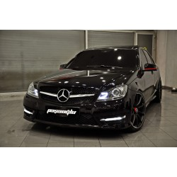 Mercedes Benz - W204 C Serisi C63 AMG Panjur Black 2007-2014