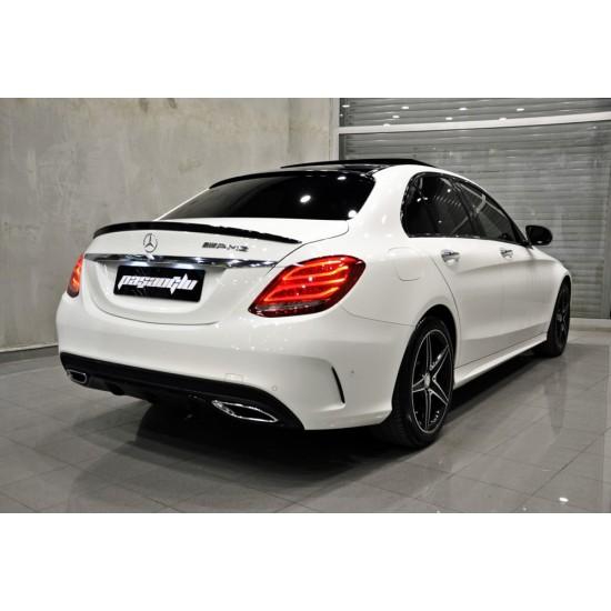 Mercedes Benz - W205 C Serisi AMG Bagaj Üstü Spoiler