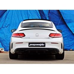 Mercedes Benz - W205 C Coupe C63 AMG Difüzör Egzoz Ucu