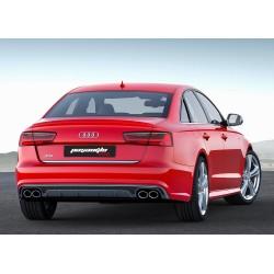 Audi - A6 C7 S6 Sedan Difüzör 2015-2018