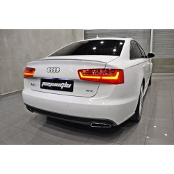 Audi - A6 C7 S6 Bagaj Üstü Spoiler 2012-2018*