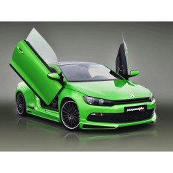 Volkswagen - SCIROCCO JE DESIGN Ön Tampon Eki Ön Lip 2009-2014