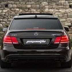 Mercedes Benz - W212 E Sedan E63 AMG Bagaj Üstü Spoiler