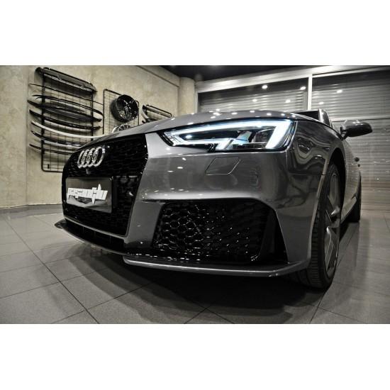 Audi - A4 B9 RS4 Body Kit Ön Tampon - Difüzör 2015-2019