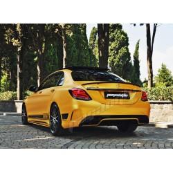 Mercedes Benz - W205 C Sedan BRABUS Bagaj Üstü Spoiler