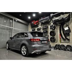 Audi - A3 8V S3 HB Marşpiyel (Fiber) 2013-2020